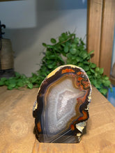 Load image into Gallery viewer, Natural Agate end - natural stone paper weight - home decor or unique office display AEMD00018