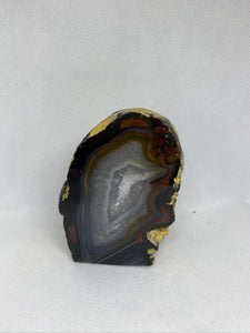 Natural Agate end - natural stone paper weight - home decor or unique office display AEMD00018