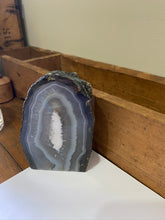Load image into Gallery viewer, Natural Agate end - natural stone paper weight - home decor or unique office display AEMD0011