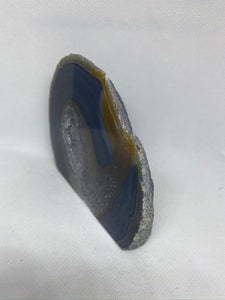 Natural Agate end - natural stone paper weight - home decor or unique office display AEMD0033