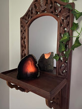 Load image into Gallery viewer, Natural Agate tea light Candle Holder, home décor