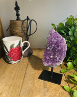 Natural amethyst display piece and home decor (6)