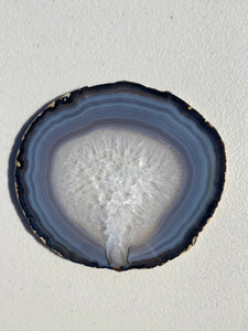 Natural polished Agate Slice drink coasters - Set of 4 NCMD0006