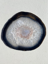 Load image into Gallery viewer, Natural polished Agate Slice drink coasters - Set of 4 NCMD0007