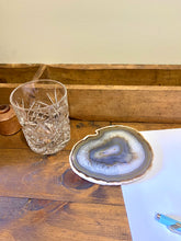 Load image into Gallery viewer, Natural polished Agate Slice drink coasters - single slice