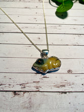 Load image into Gallery viewer, Ocean Jasper pendant set in sterling silver