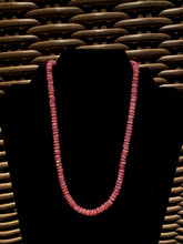 Load image into Gallery viewer, Rhodochrosite bead necklace