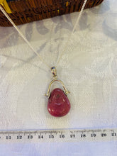 Load image into Gallery viewer, Rhondonite pendant set in sterling silver