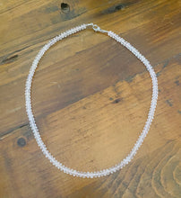 Load image into Gallery viewer, Rose Quartz bead necklace