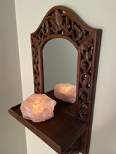 Load image into Gallery viewer, Rose Quartz Candle Holder