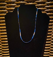 Load image into Gallery viewer, Sapphire bead necklace