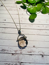 Load image into Gallery viewer, Smoky Quartz pendant set in sterling silver - necklace