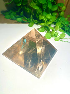 Smoky Quartz pyramid, paper weight or unique display piece - Large