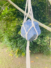 Load image into Gallery viewer, Sodalite Macrame wall hanging