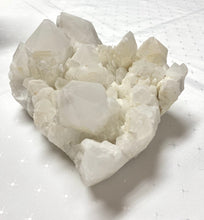 Load image into Gallery viewer, White Quartz Crystal Cluster - home décor and table display