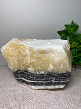 Load image into Gallery viewer, Zebra Calcite display piece - home décor or office display