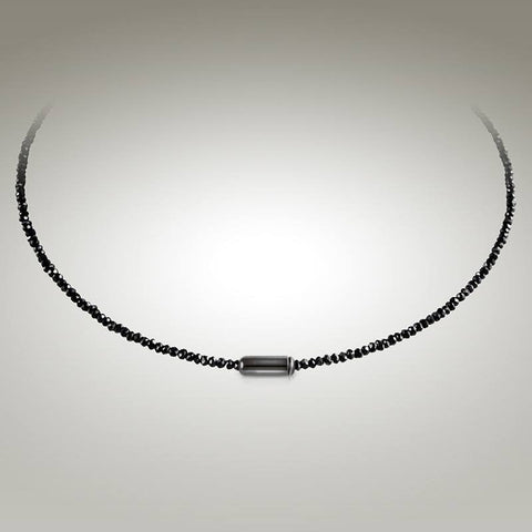 Moana Chic - Black Spinel Choker