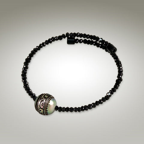 Moana Chic - Black Spinel Bracelet