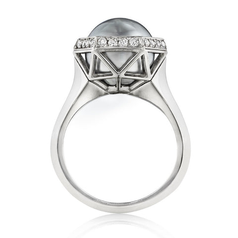 18k White Gold-Palladium