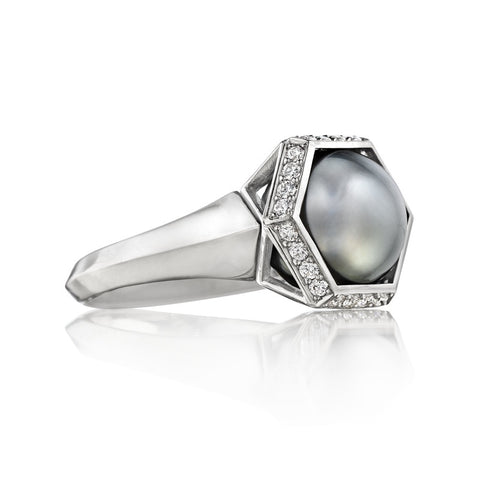 PERLE CAPTIVE RING