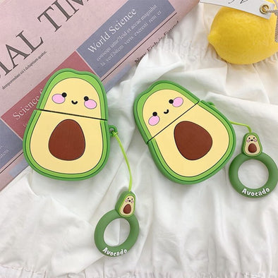 Avocado and Friends Airpods Case