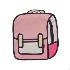 My Life a Cartoon Backpack