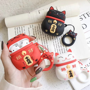 Lucky Kitty Airpods Case