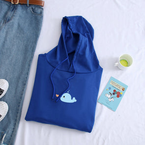 Narwhal Whale Hoodie