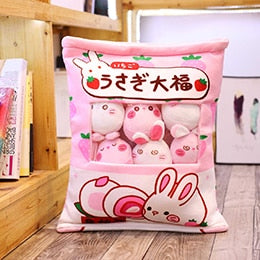 Kawaii Bunny Pillow Case Plushie Collection