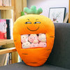 Carrot Pillow Case Plushie
