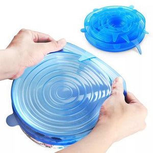 Extra Resistant Silicone Lids
