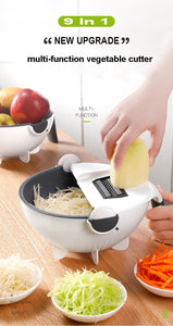 Magic Rotate Vegetable Cutter