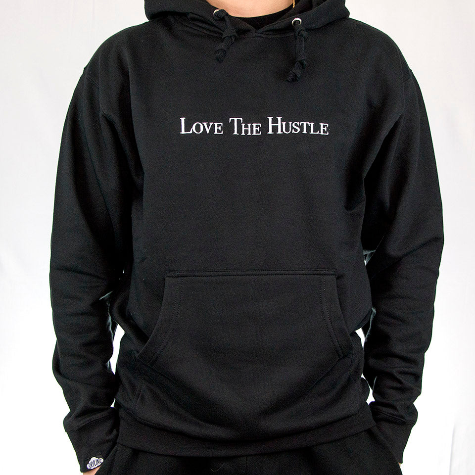 Love The Hustle Hoodie (BLACK)