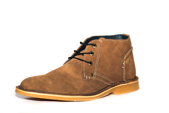 Freestyle Shoe Bradley Suede Beige With Navy Trim