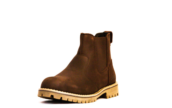 Jeep Men's Ruggered Chelsea Boot Brown