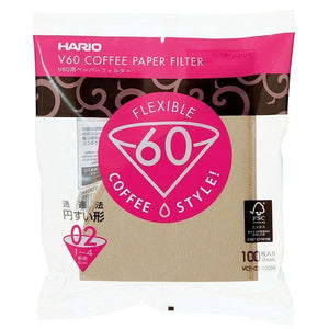 Hario V60-02 White Paper Filters