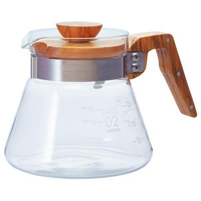 Hario V60-02 Range Server with Olive Wood