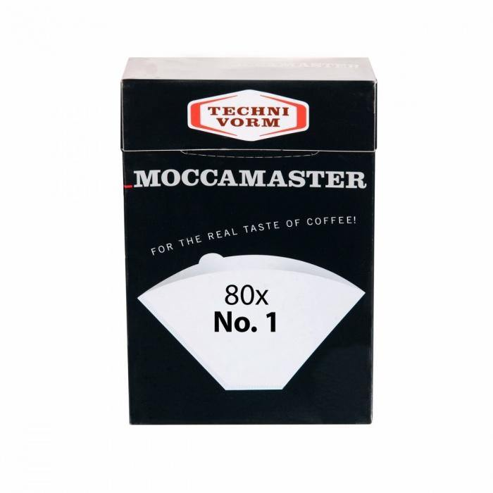 Moccamaster No. 1 Cup-One Filtry 80 ks