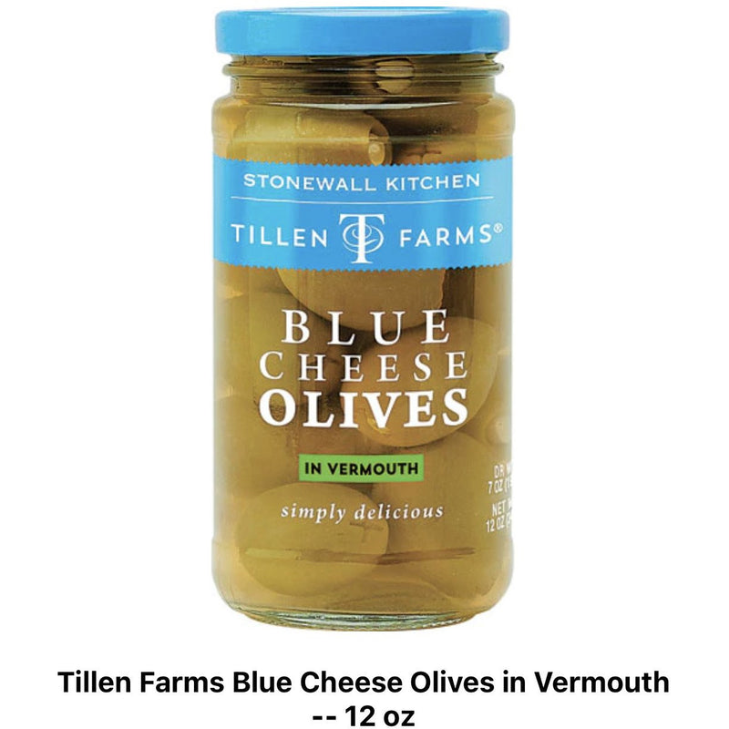 Tillen Farms Blue Cheese Olives