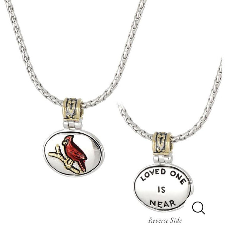 Celebrations Memories Red Cardinal Necklace