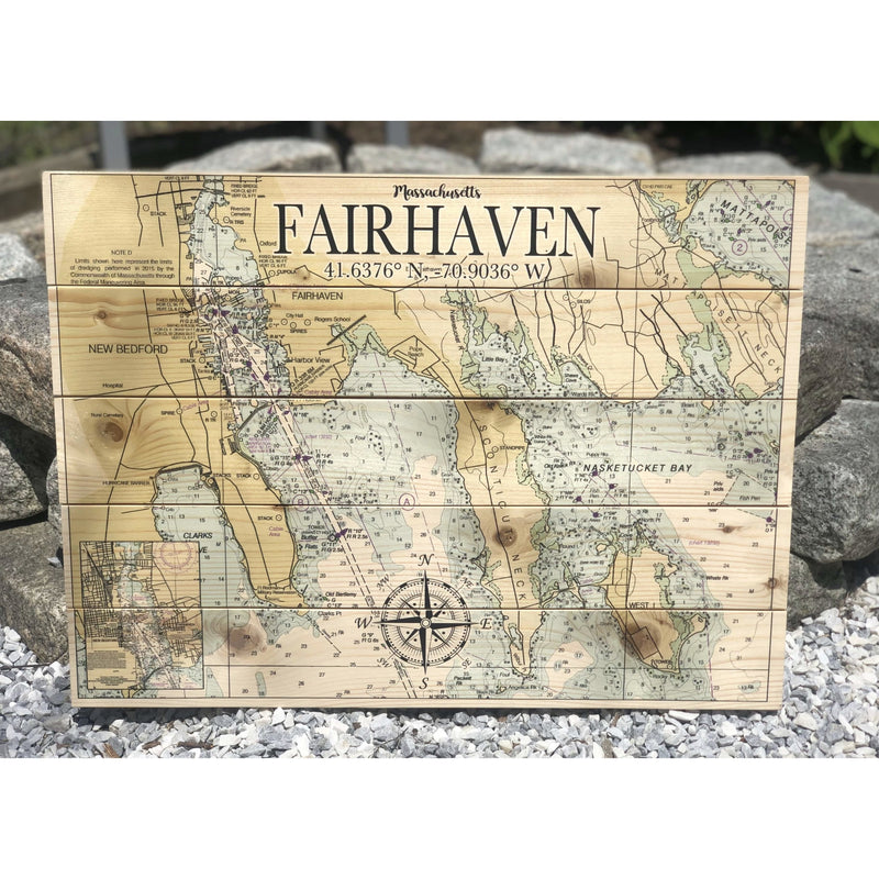 Fairhaven Nautical Pallet Sign