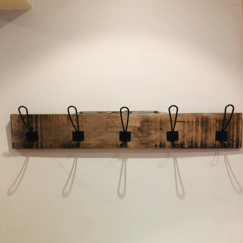 Distressed Wood Cost Rack