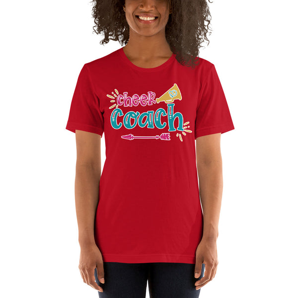 Cheer Coach Megaphone Shirt - Cheer Coach Shirts