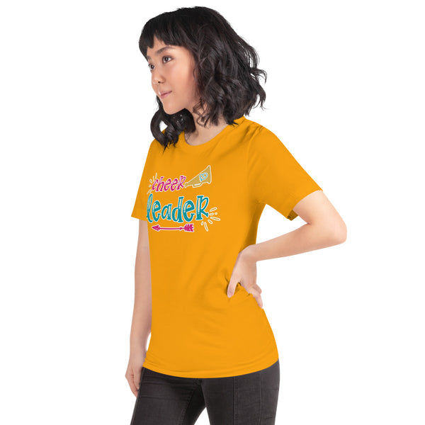 Cheer Leader Megaphone Shirt - Cheer Shirts