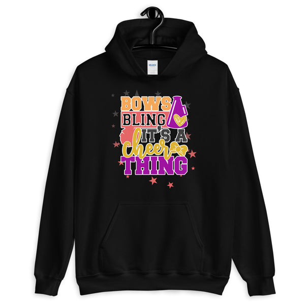 Bows & Bling It's A Cheer Thing Hoodie - Cheer Hoodies & Sweatshirts