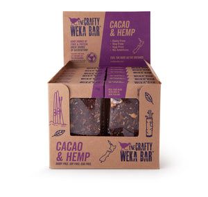 CW Bar Cacao and Hemp - Box of 12