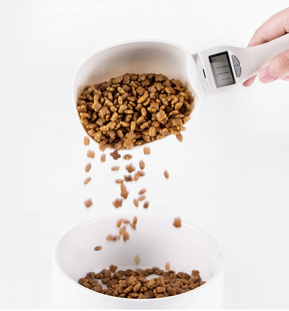 ⚡ Portable Pet Food Measuring Scoop 800g- RAV Pet ⚡