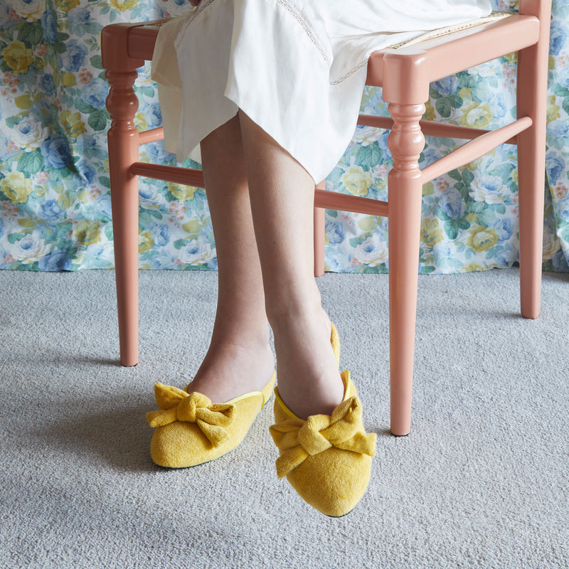 DAPHNE  |  Lemon Terry Towelling