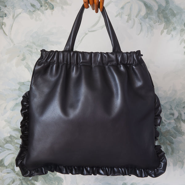 BLUEBELL  |  BLACK LEATHER | PRE-ORDER