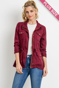 Mulberry Tencel Jacket